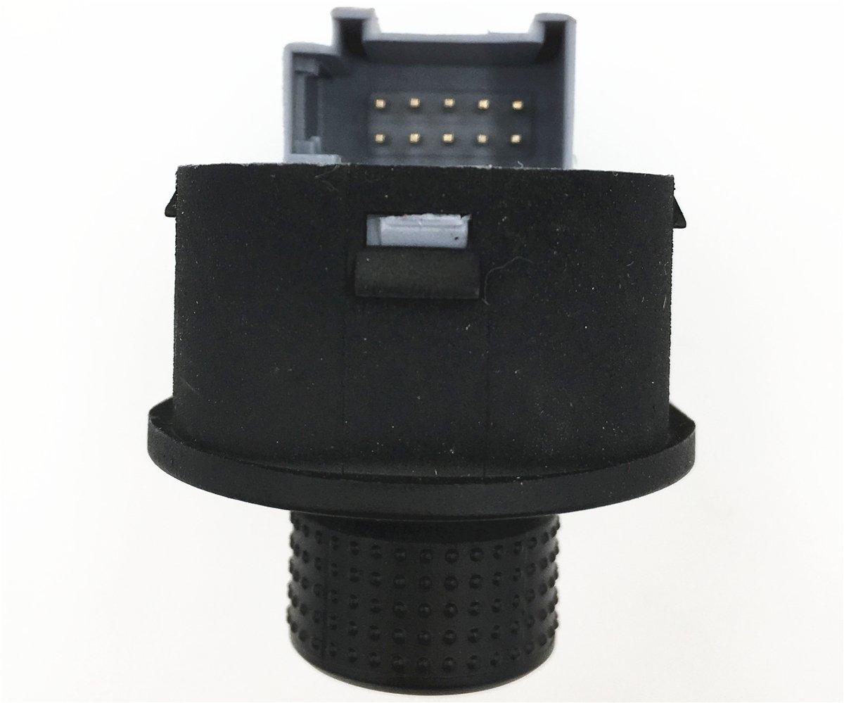 18mm Objectif HD Voiture Troisi/ème Lampe de Frein Cam/éra de Recul Lumi/ère de Frein Vue Arri/ère de Voiture Cam/éra pour VW T5 Bus Transporter Multivan Caravelle Business 2003-2015
