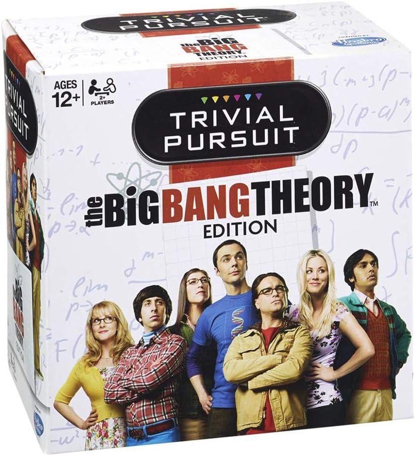 Winning Moves The Big Bang Theory Card Game Trivial Pursuit *English Version: Amazon.es: Hogar