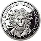 1 oz Proof-like Medusa Silver Round (New w/ CoA)