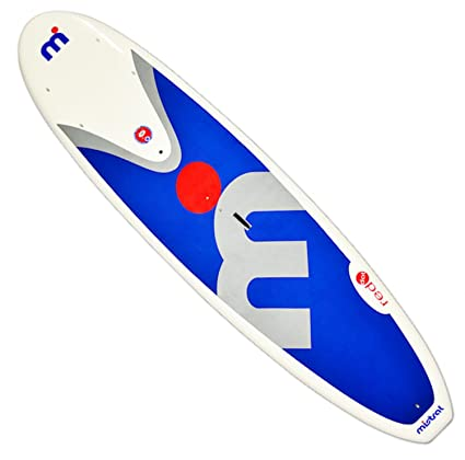 Amazon.com : Mistral Red Dot Stand Up Paddle Board, Blue ...