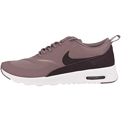 NIKE Damen Air Max Thea Violett MeshKunstlederLeder Sneaker 44,5
