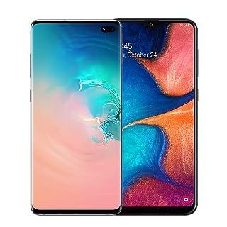 Samsung Galaxy S10+ Factory Unlocked Phone with 128GB (U.S. Warranty), Prism White w/Free Samsung Galaxy A20