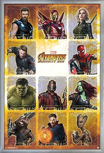 avengers infinity war wall poster