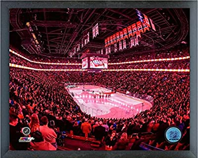 "Bell Centre Montreal Canadiens NHL Photo (Size: 17"" x 21"") Framed"
