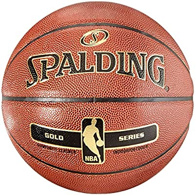 Spalding NBA Gold - Basketball Indoor Outdoor Pelota de baloncesto ...