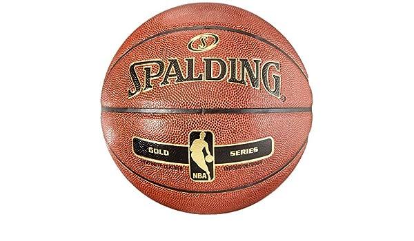 Spalding NBA Gold - Basketball Indoor Outdoor Pelota de baloncesto ...