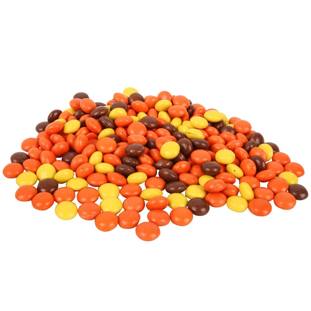REESE'S PIECES Ice Cream Toppings - 25 lb. By TableTop King