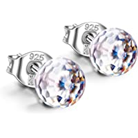 Alex Perry Fantastic World Series Women Stud Earrings, 925 Sterling Silver, Aurora Borealis Crystal from Swarovski, Exquisite Gift Box