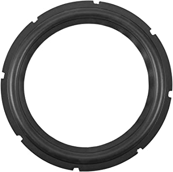 Sanpyl 12 Inches Universal Perforated Rubber Speaker Foam Foam Edge Subwoofer Surround Circle Foam