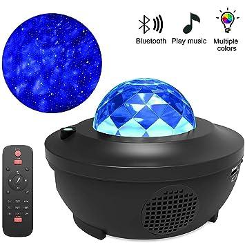 Lámpara De Noche del Océano Wave LED, 2 En 1 Proyector De ...