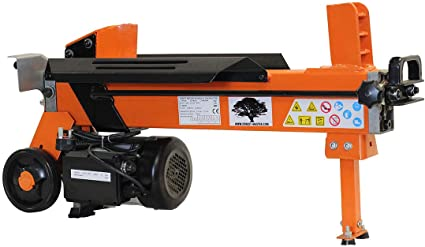 Forest Master Heavy Duty Electric Log Splitter - Powerful Duocut Blade