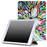 MoKo iPad Air 2 Case - Slim Lightweight Smart Shell Stand Cover Case for Apple iPad Air 2 9.7'' 2014 Released Tablet, Lucky TREE (with Auto Wake/ Sleep, Not Fit iPad Air 2013 Released Tablet)
