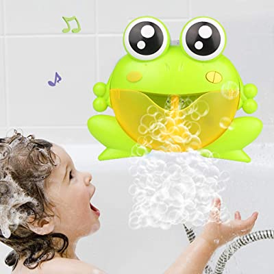 Bath Dolls, Bubble Machine Big Frogs Automatic Bubble Maker Blower Music Bath Toy for Baby, Bath Toy New Frog Bubble Machine: Arts, Crafts & Sewing