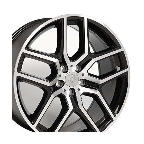 OE-Wheels-20-Inch-Fits-Ford-Explorer-Flex-Freestyle-Lincoln-MKT-Explorer-Style-Black-Machined-20×9-Rim-Hollander-10061