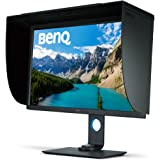 BenQ 31.5 inch 4K Photographer Monitor (SW320), 3840x2160 UHD, HDR, 99% AdobeRGB, 100% Rec.709, DCI-P3, HW Calibration, 14-bit 3D LUT, GamutDuo, HDMI 2.0, Hotkey Puck