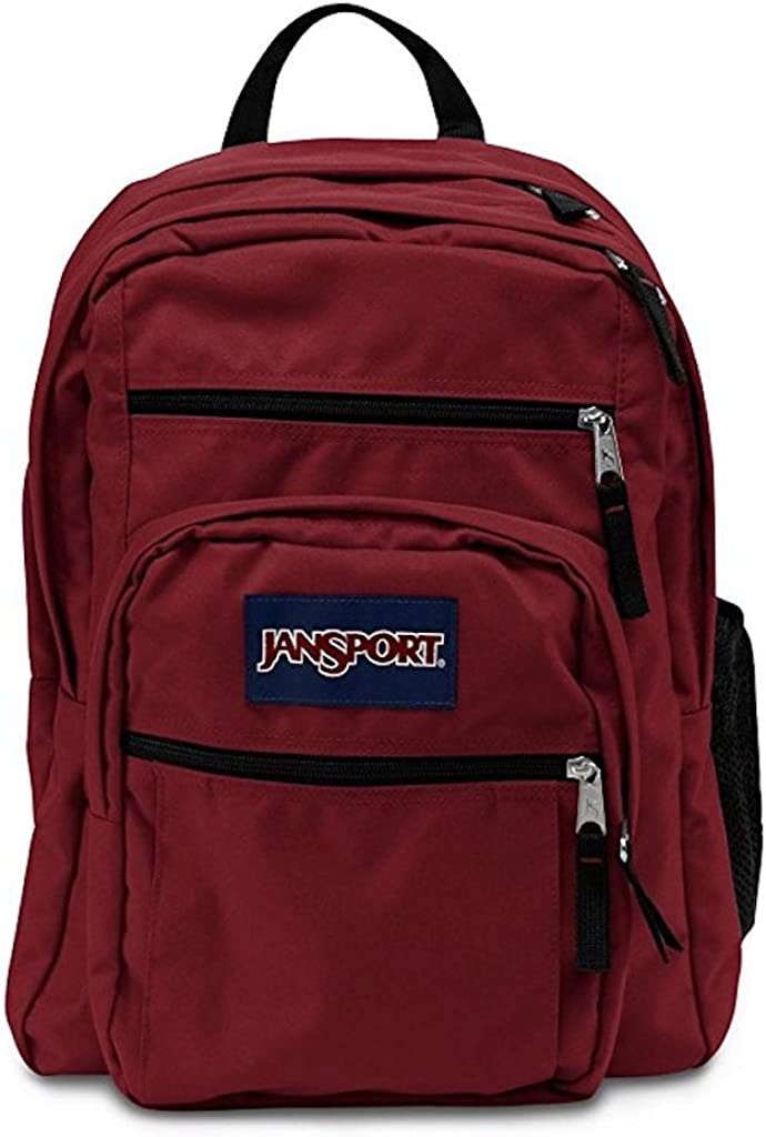 JanSport Big Student Reddish Brown Viking Red Backpack-