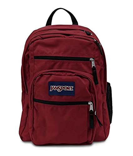 4c10567c030f Image Unavailable. Image not available for. Color  JANSPORT BIG STUDENT  BACK BAG (Viking Red)