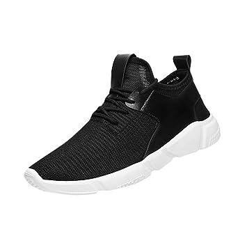 Amlaiworld Zapatos de hombre zapatillas deportes hombre running Zapatos masculinos Casual Zapatos de camuflaje Zapatillas de