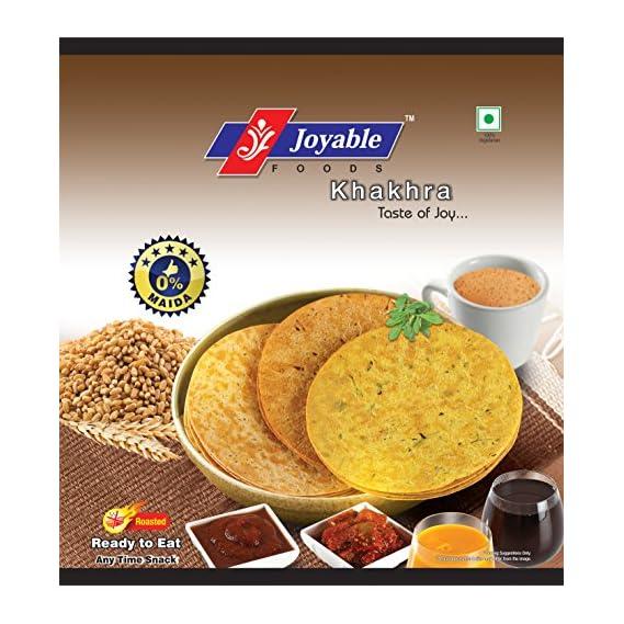 Joyable Diet Khakhra (Corn,Ragi,Multigrain,Mung,Chatpata Mung,Mung Methi Garlic) - Pack of 7