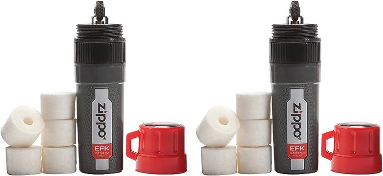 Amazon.com: Zippo - Kit de emergencia para fuego: Sports ...