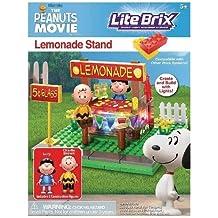 Lite Brix The Peanuts Movie Lemonade Stand Building Set