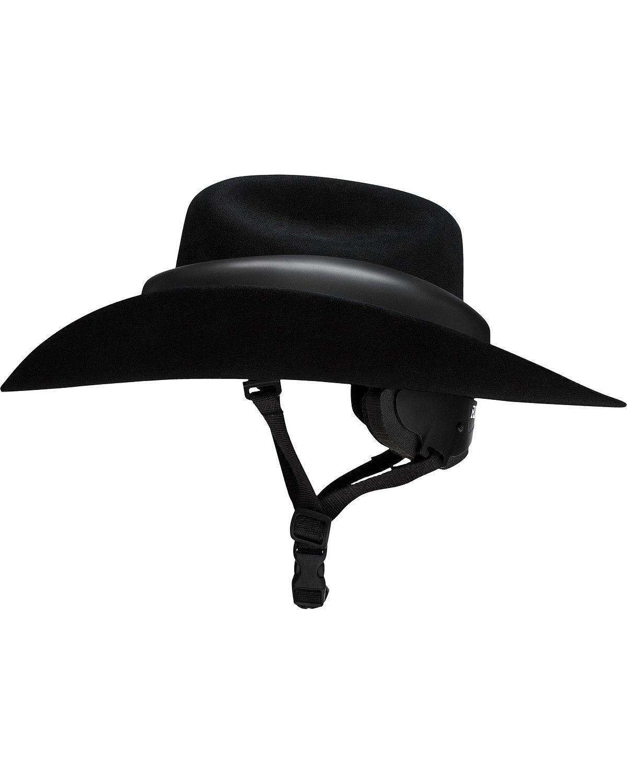 Resistol RideSafe Western Hat Helmet