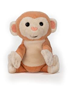 "Apple Park Picnic Pal Organic 4"" Finger Puppet, Monkey (Discontinued by Manufacturer)"