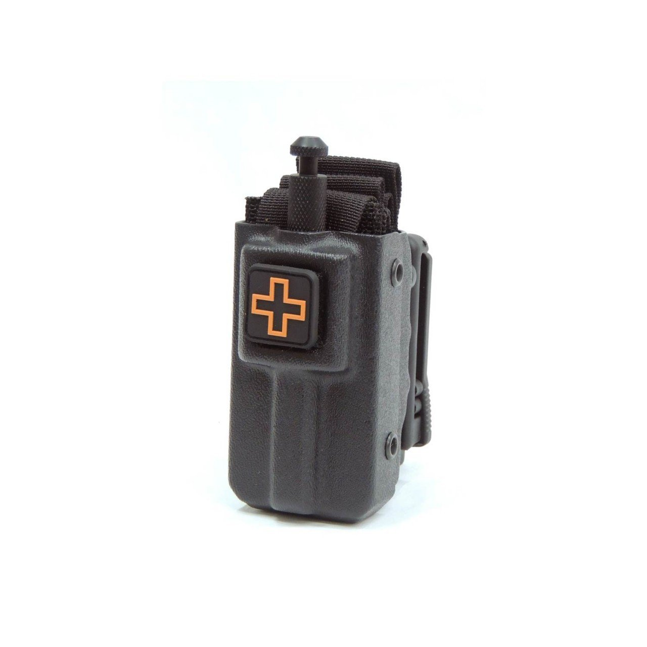 Eleven 10 – 1110 Gear Kydex Sof®tt Wide Tourniquet Case (New Design)-black Belt Attachment (Tek-lok)