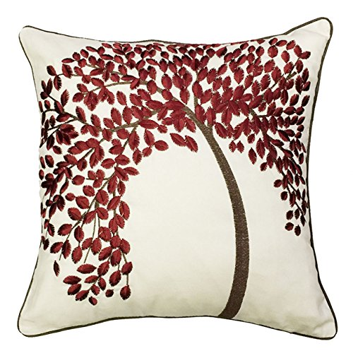 Wrapables Decorative Vibrant Embroidery Pillow