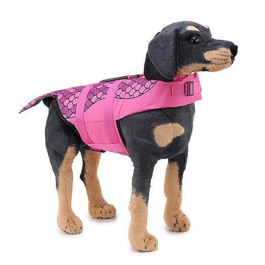GGDJFN Suministros Para Mascotas Chaleco De Flotación Para Perros ...