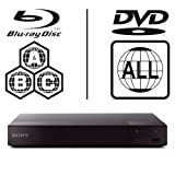 SONY BDP-S6700 4k Upscaling - 2D/3D - Wi-Fi - Blue Tooth - Multizone All Region Code Free DVD Blu Ray Player - 2M HDMI Lead Included - 100~240V 50/60Hz Worldwide Voltage AUTO - Comes with the UK Power Supply