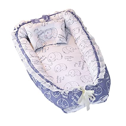 Colchón de bebé desmontable Nido bebé recién nacido bebé cama de ...