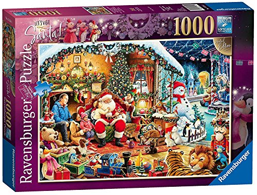 Ravensburger Lets Visit Santa! 1000pc Jigsaw Puzzle