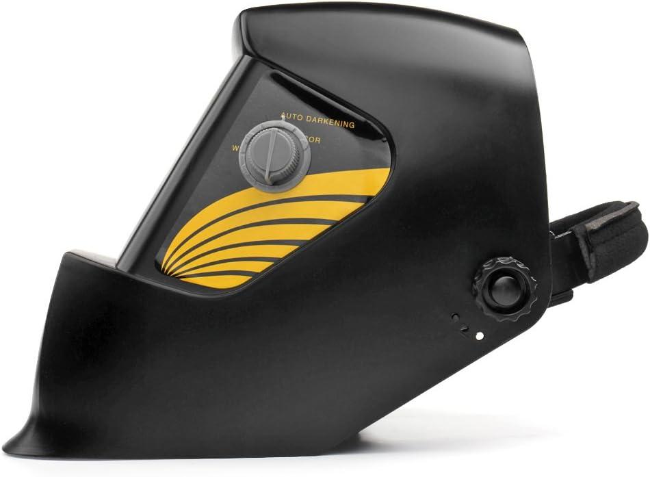 Flexzion Welding Helmet Auto Darkening Mask Hood Solar Powered Shield Equipment with Weld /& Grind Modes Manual Adjustable Shade Range 9-13 for Arc Gas Tig Mig Mma Grinding Plasma Cut Indie Black