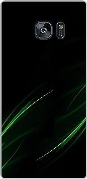 Shengshou Pattern Design Mobile Back Cover for Samsung Galaxy S7 Edge   Black Green