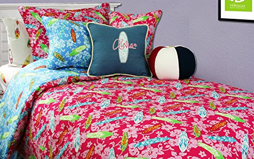 Surfer Girl Duvet Cover Mini Set - Queen / Full Surfer Girl Duvet Cover w/ Matching Std Pillowcases (Bedding Surf Miller Dean)