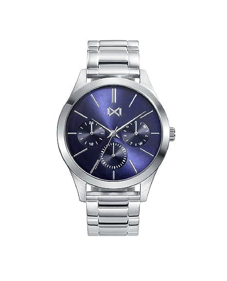 Mark Maddox HM7121-37 Reloj de Hombre Cuarzo Multifunción Acero Tamaño 42 mm: Amazon.es: Relojes