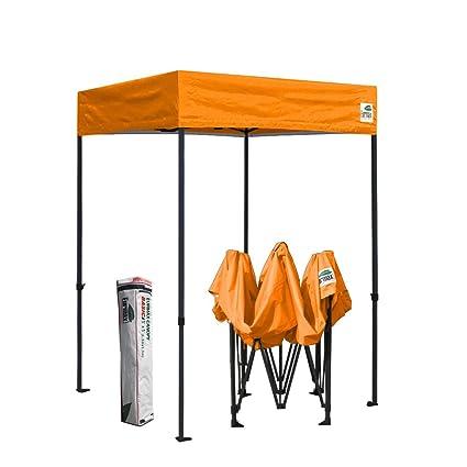 new styles bcaa5 543b6 Amazon.com : Eurmax 5x5 Flat Top Party Tent Ez Pop up Canopy ...