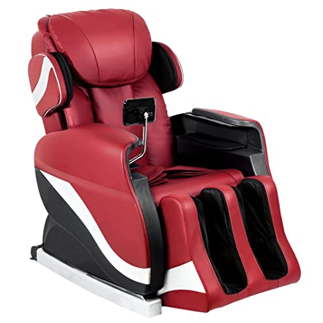 Ordinaire Merax Full Body Massage Recliner Chair 8 Massaging Programs Electric  Leather Lounge Chair Massage Chair