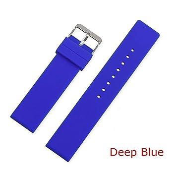 Amazon.com: Ronald Turner Correa de reloj de silicona Diver ...