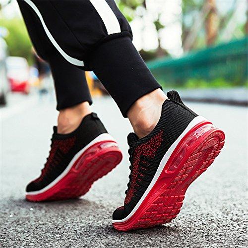 Air Outdoors Sports Damen Running Farben Straßenlaufschuhe Viele Herren Sneaker 36EU Turnschuhe Laufschuhe Axcone 46EU Rot Fitness Sportschuhe Sneaker qXfgvxw