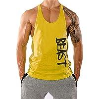 YeeHoo Hombre Beast Camisetas Bodybuilding Chaleco de Tirantes Gimnasio Tank Top Sport Vest