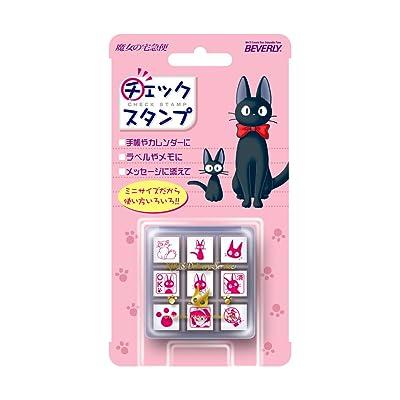 BEVERLY ENTERPRISES INC. Studio Ghibli Kiki's Delivery Service Mini Rubber Stamp Set (x9 Stamps): Arts, Crafts & Sewing