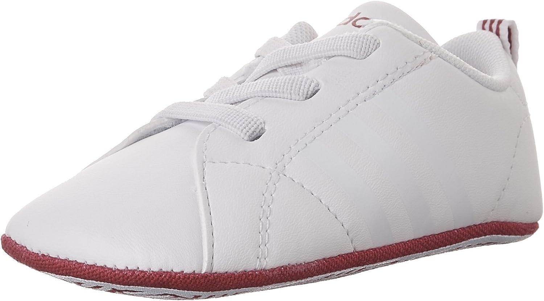 adidas Unisex-Child Vs Advantage Crib Sneaker