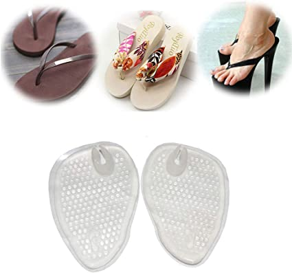 2 Pairs)Gel Cushions For Flip Flop