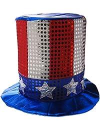 766f2a1b815fa Glitz  N Gleam Uncle Sam Top Hat Party Accessory (1 count)