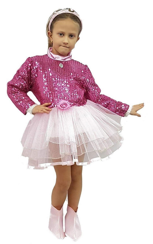 pequeños monelli Traje Bailarina niña Vestido Tutu Bailarina ...