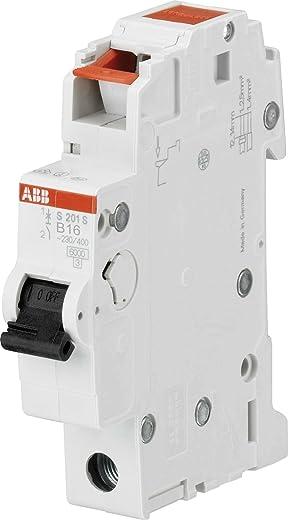 ABB 2CDS251002R0165 S201S-B16 Leitungsschutzschalter 1-polig S201S B, 16 A