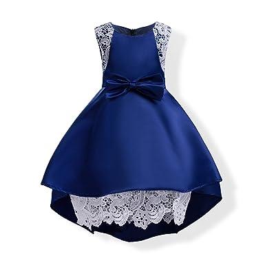 ad4352753 Amazon.com  AiMiNa Girls Dresses Graduation Flower Girls Wedding ...