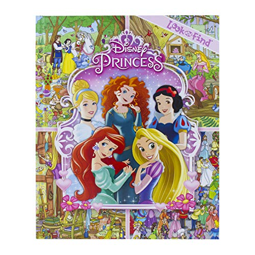 Disney Princess - Look and Find - PI Kids